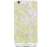 USGS TOPO Map Alaska AK Bradfield Canal A-1 354711 2000 63360 iPhone Case/Skin