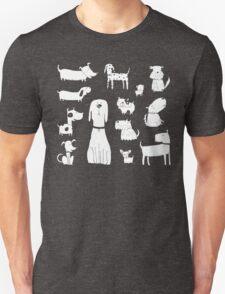 dog - grey Unisex T-Shirt