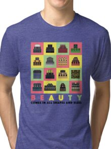 Beauty Comes in All Shapes and Sizes Tri-blend T-Shirt