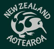 KIWI   New Zealand   Aotearoa by piedaydesigns