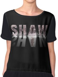 Shaw - Fog - Person of interest Chiffon Top