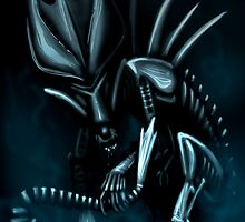 Giger Tribute by farorenightclaw