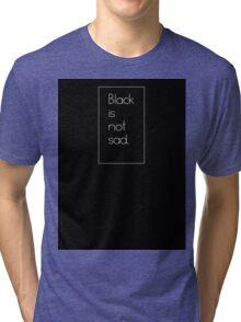 Black <3 Tri-blend T-Shirt