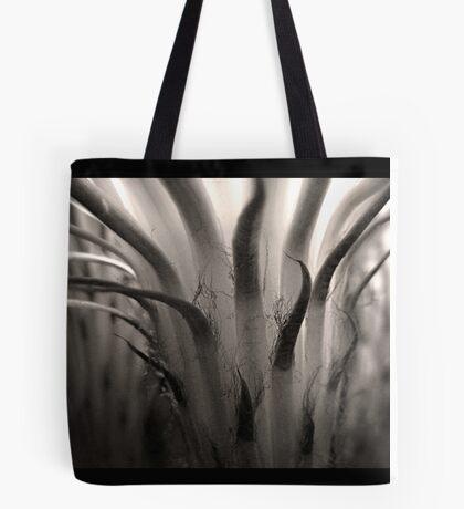 Cactus Bloom in Sepia Tote Bag
