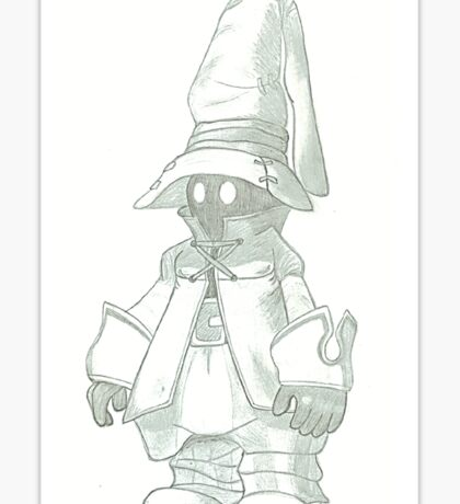 Vivi (Final Fantasy IX) Sticker