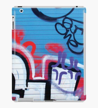 Blue Tag iPad Case/Skin