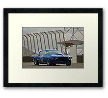 Tilley Racing Mustang Framed Print