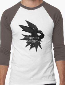 Thunder Is Coming Men's Baseball ¾ T-Shirt