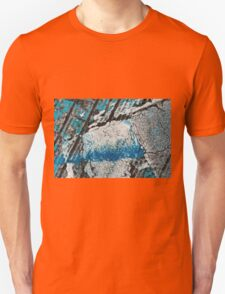 Blue Canyons Colliding Unisex T-Shirt