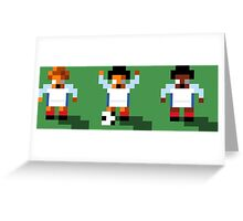 England 2016 - Sensible World Of Soccer Sprites Greeting Card
