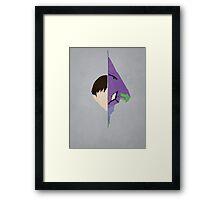 Shinji Framed Print