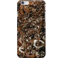 raindrops in spiderweb iPhone Case/Skin