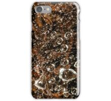 raindrops in spiderweb iPhone Case/Skin