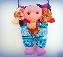 Cute Hand made handbag for a small girl. by EdsMum