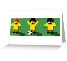 Australia 2016 - Sensible World Of Soccer Sprites Greeting Card