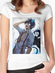 Rin Okumura Women's Fitted Scoop T-Shirt