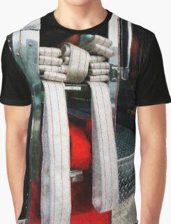 Closeup Of Fire Hoses Graphic T-Shirt