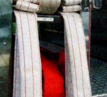 Closeup Of Fire Hoses Sticker