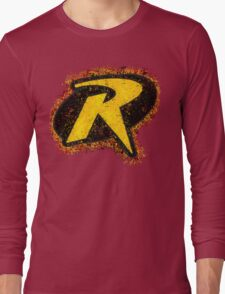 Superhero Spray Paint - Robin Long Sleeve T-Shirt