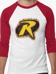 Superhero Spray Paint - Robin Men's Baseball ¾ T-Shirt