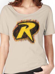 Superhero Spray Paint - Robin Women's Relaxed Fit T-Shirt