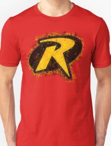 Superhero Spray Paint - Robin Unisex T-Shirt
