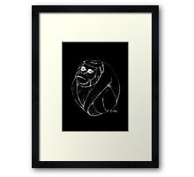 Coco-monkey Framed Print