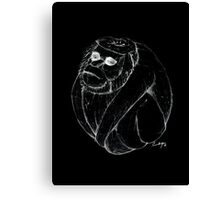 Coco-monkey Canvas Print