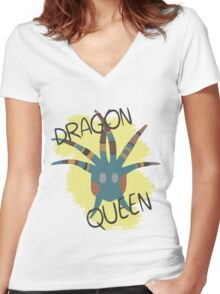 How To Train Your Dragon 2 - Valka Dragon Queen Tee Women's Fitted V-Neck T-Shirt