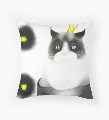 Tard - Queen of the Grumps Throw Pillow