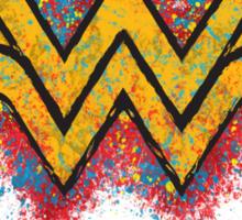 Superhero Spray Paint - Wonder Woman Sticker