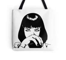 Pulp Fiction - Mrs. Mia Wallace - Pillow & Tote Bag Tote Bag