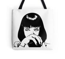 Pulp Fiction - Mrs. Mia Wallace - Pillow & Tote Bag Tote Bag
