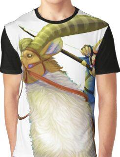 Ashitaka and Yakul  Graphic T-Shirt