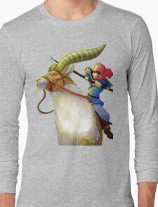 Ashitaka and Yakul  Long Sleeve T-Shirt