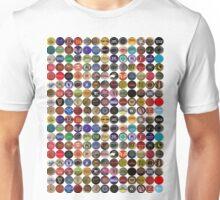 Beer bottle caps 2 Unisex T-Shirt