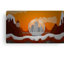 DWO Minecraft - Gallifrey Canvas Print