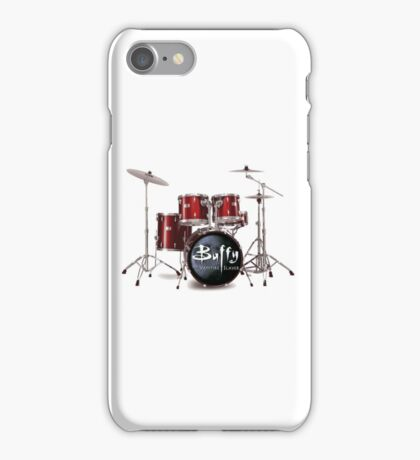 Buffy the Vampire Slayer Drums iPhone Case/Skin