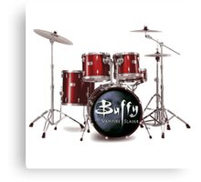 Buffy the Vampire Slayer Drums Canvas Print