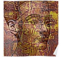 Nefertiti Collage 10 Poster