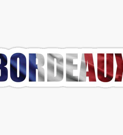 Bordeaux. Sticker