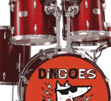 Buffy Dingoes ate my baby Oz drums Sticker