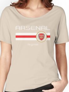 EPL 2016 - Football - Arsenal (Home Red) Women's Relaxed Fit T-Shirt