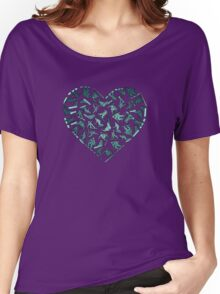In Love With Snowboarding (dark) Women's Relaxed Fit T-Shirt