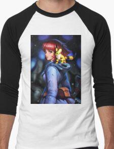 Nausicaa and teto Men's Baseball ¾ T-Shirt