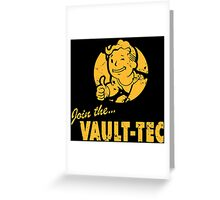 Vault Tec Greeting Card