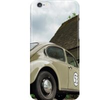 Beautiful retro car renovated with love, style and power iPhone Case/Skin