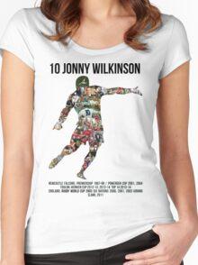 Jonny Wilkinson Tribute  Women's Fitted Scoop T-Shirt