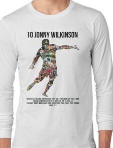 Jonny Wilkinson Tribute  Long Sleeve T-Shirt