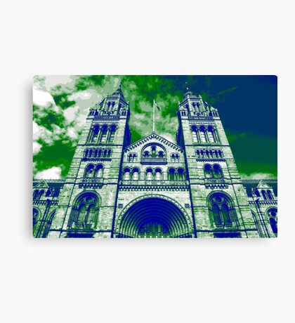 London's Natural History Museum Canvas Print